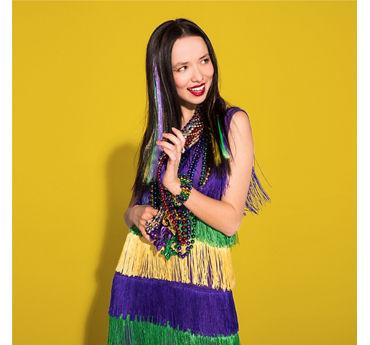 Mardi Gras Dressy Outfit Idea