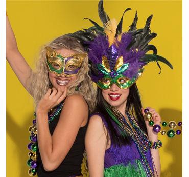 Mardi Gras Masquerade Mask Idea