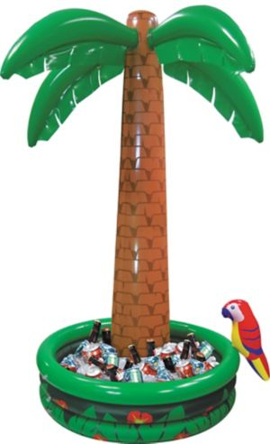 Jumbo Inflatable Palm Tree Cooler