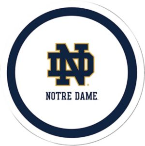 Notre Dame Fighting Irish Lunch Plates 8ct