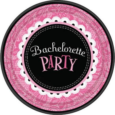 Bachelorette Party Dessert Plates 8ct