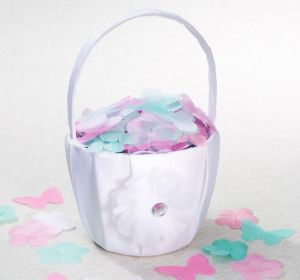 Fabric Flower & Butterfly Confetti 300ct