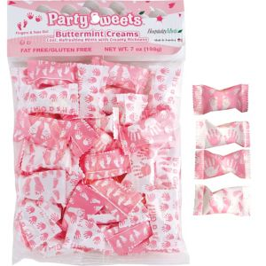Pink It's a Girl Pillow Mints 50ct