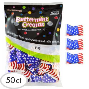 American Flag Pillow Mints 50ct