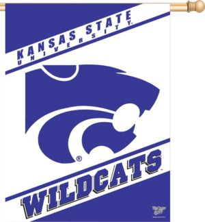 Kansas State Wildcats Banner Flag