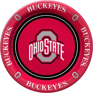 Ohio State Buckeyes Lunch Plates 8ct