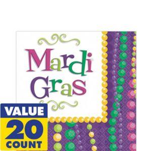 Mardi Gras Celebration Lunch Napkins 20ct