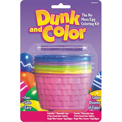 Dunk and Color Easter Egg Coloring Kit