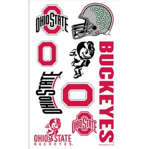 Ohio State Buckeyes Tattoos 7ct