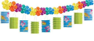 Fun in the Sun Lantern Garland
