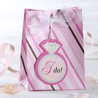 Bride To Be Mini Wedding Favor Bags 12ct