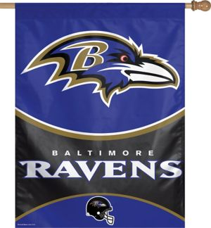 Baltimore Ravens Banner Flag
