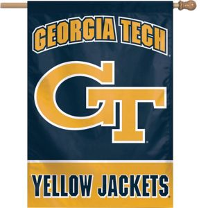 Georgia Tech Yellow Jackets Banner Flag
