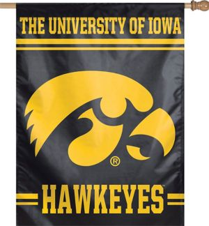 Iowa Hawkeyes Banner Flag