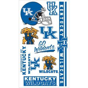 Kentucky Wildcats Tattoos 7ct