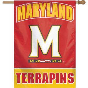 Maryland Terrapins Banner Flag