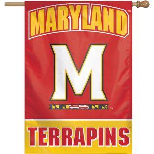 Maryland Terrapins Banner Flag
