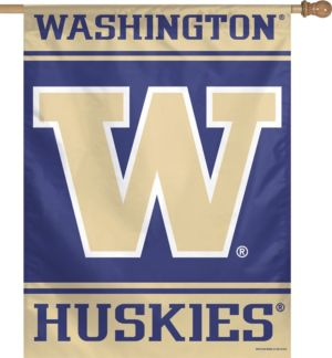 Washington Huskies Banner Flag