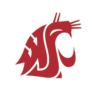 Washington State Cougars Cling Decal