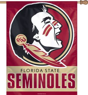 Florida State Seminoles Vertical Flag