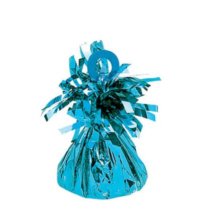 Light Blue Foil Balloon Weight 6oz