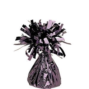 Black Foil Balloon Weight 6oz