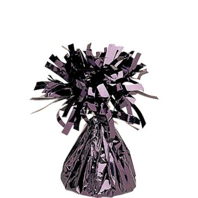 Black Foil Balloon Weight 6oz