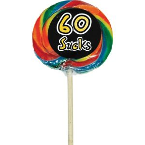 Sweet 60th Birthday Lollipop