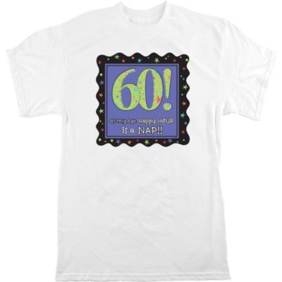 Adult Celebrate 60th Birthday T-Shirt