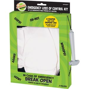 Over the Hill Emergency Diaper Kit 2pc
