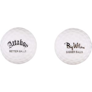 New Balls for an Old Body Golf Balls