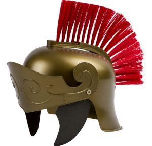 Gold Roman Helmet