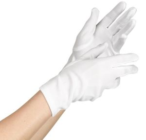 Teen White Gloves