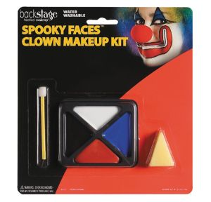 Spooky Faces Clown Makeup Kit