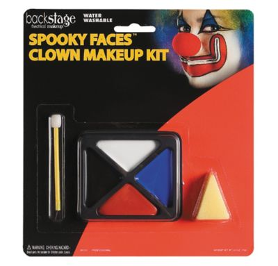 Spooky Faces Clown Makeup Kit