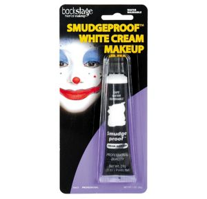 White No Smudge Cream Makeup 1oz