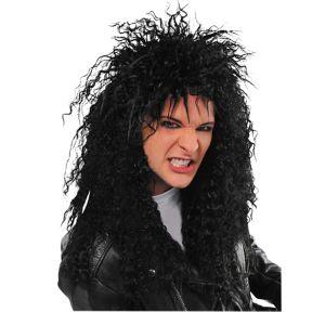Black Rocker Wig