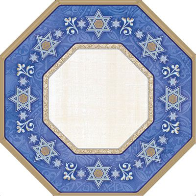 Judaic Traditions Passover Dinner Plates 8ct