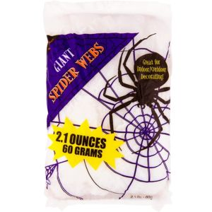 White Stretch Giant Spider Web