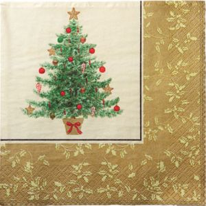 Victorian Tree Lunch Napkins 16ct