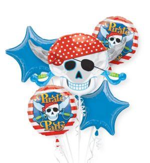 Pirate's Treasure Balloon Bouquet 5pc