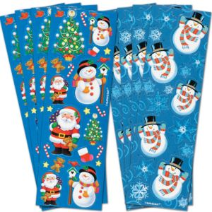 Christmas Stickers 8 Sheets