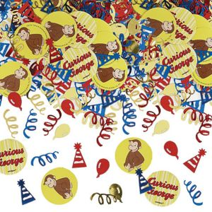 Curious George Confetti 1/2oz