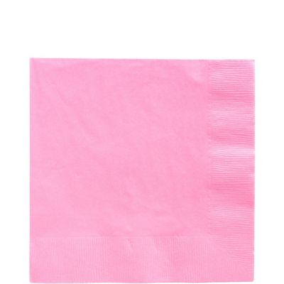 Pink Lunch Napkins 50ct