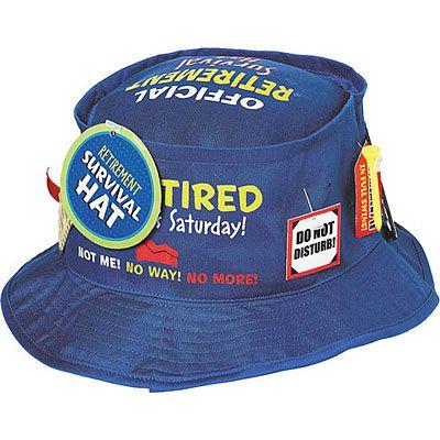 Retirement Survival Hat