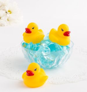 Rubber Ducky Baby Shower Favors 3ct