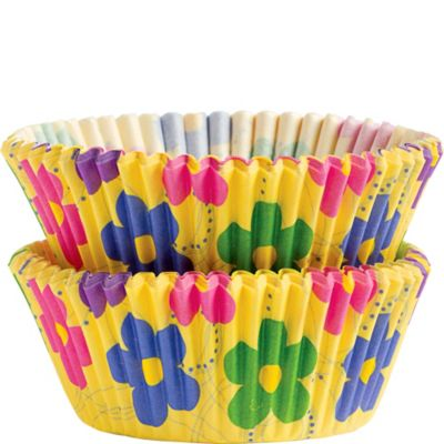 Dancing Daisy Baking Cups 50ct