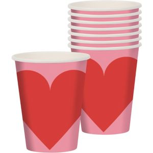 Key to Your Heart Valentine's Day Cups 8ct