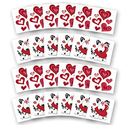 Valentine's Day Tattoos 24ct