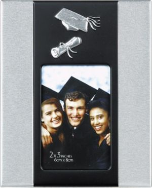 Cap & Diploma Graduation Photo Frame